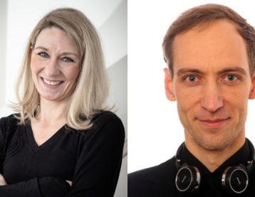 Portraits Claudia Runde und Matthias Krebs