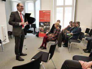 Eröffnung des Zentrum L3 Musik durch Prof. Thomas Grosse