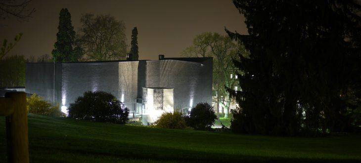 Konzerthaus Hochschule für Musik bei Nacht