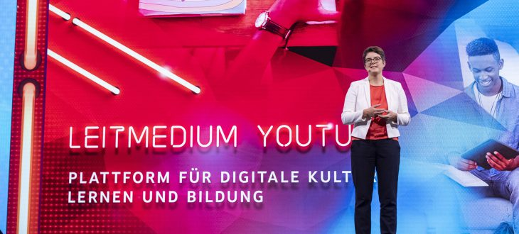 Lydia Grün beim YouTube Festival 2019