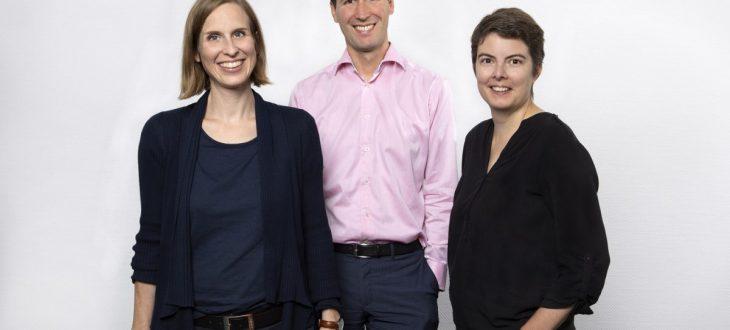 Aktuelle und designierte Geschäftsführung Netzwerk Junge Ohren