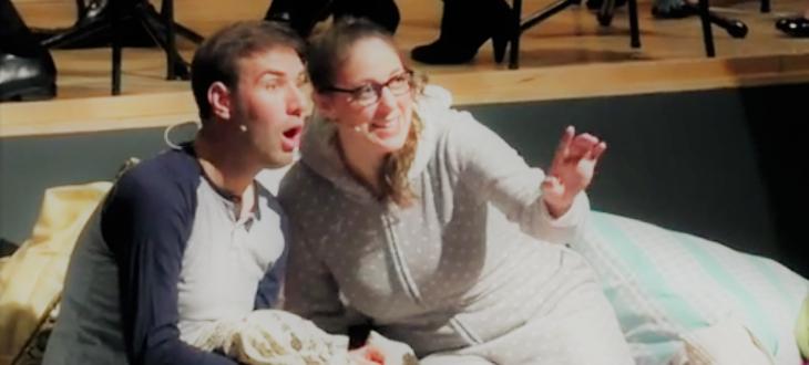 Andrea Hoever beim Familienkonzert mit dem Hochschulorchester 2016 Scheherazade